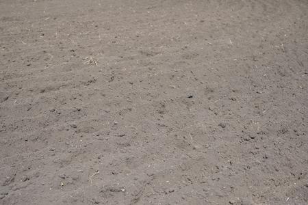 unattended: Soil of the farm field