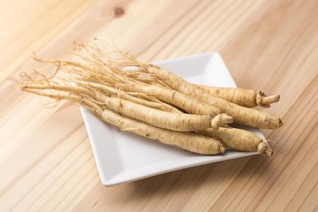 Ginseng root Stok Fotoğraf