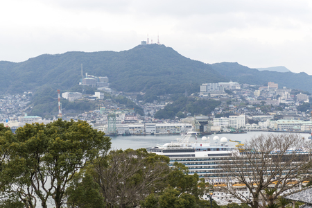 nagasaki: Nagasaki city in Japan