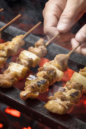 Yakitori, Grilled chicken skewers