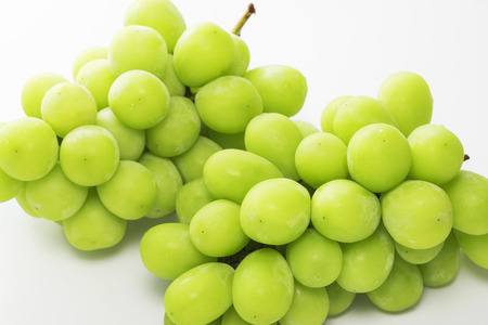 Shine Muscat, Seedless grape varieties Stok Fotoğraf - 93621798