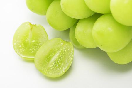Shine Muscat, Bezpestkowe odmiany winogron Zdjęcie Seryjne