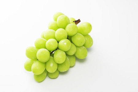 Shine Muscat, Seedless grape varieties Stock Photo - 93621802