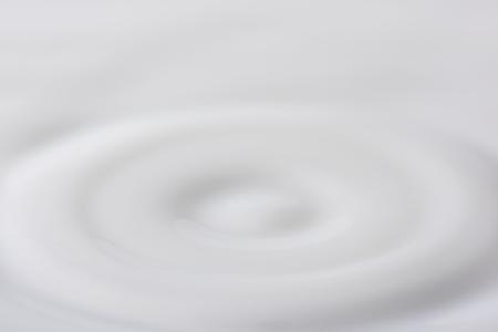 close-up of milk ripple