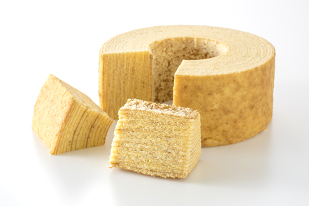 Baumkuchen is traditional baked confectionery for Germany