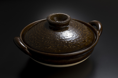 Donabe is clay pot, traditional cooking utensils in Japanese