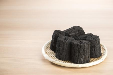 charcoal made of sawtooth oak