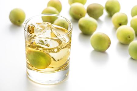 Roche de vin de prune