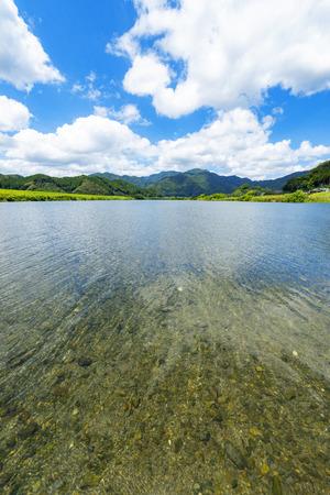 Banjo River, Saiki-shi Oita-ken Japan.