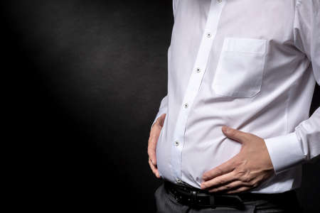 Men who are concerned about a fat stomach