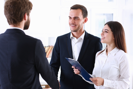 Escort service interpreter works with the transaction accompanies documents conclusion of the contract an important situation
