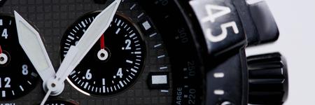 Fashionable modern wrist business watch