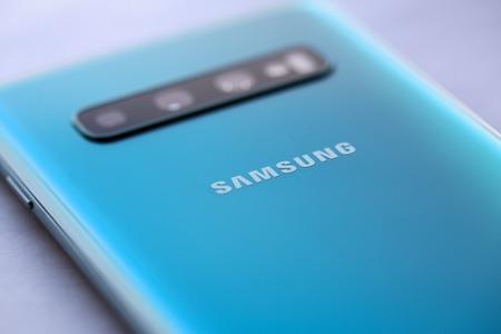Smartphone samsung galaxy s 10 aquamarine