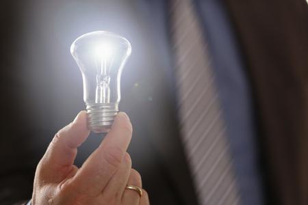 Inspiration Symbol Saving Electric Energy Idea
