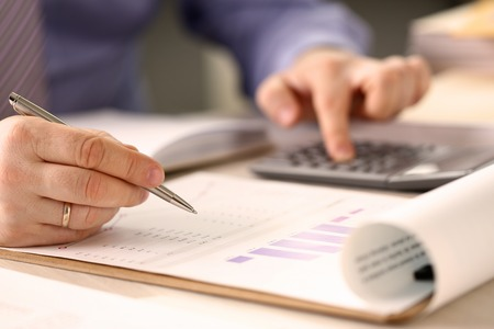 Corporate Business Financing Accounting Concept Stockfoto