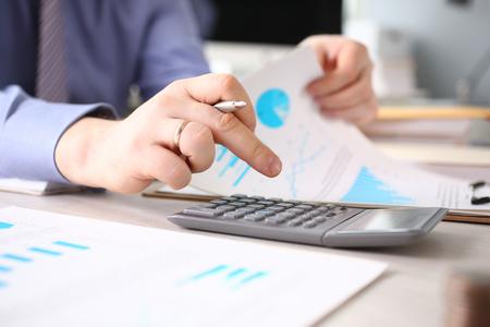 Calculating Finance Budget Tax Report Process