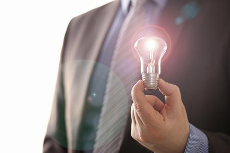 Innovation Technology New Creative Business Vision Stockfoto