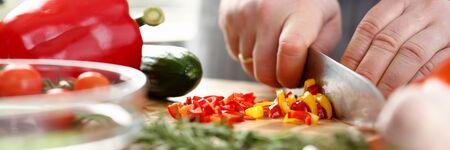 Culinary Chef Chopped Chili Pepper Small Slices