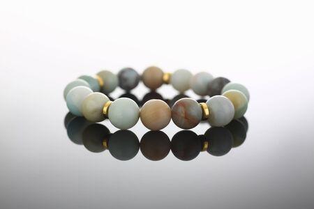 Bracelet made semi precious stones