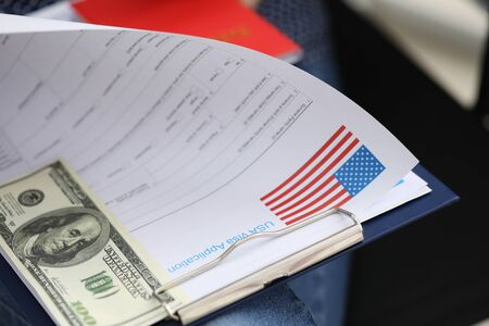 Package documents for obtaining US visa and dollar. Appointment for an interview at US Consulate. Formation package documents. Visa readiness check. Recommendations on filing additional document