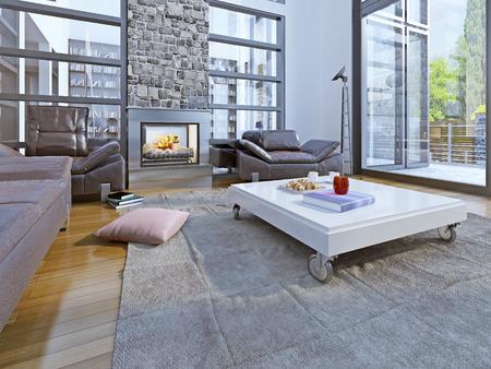 Lounge room loft style