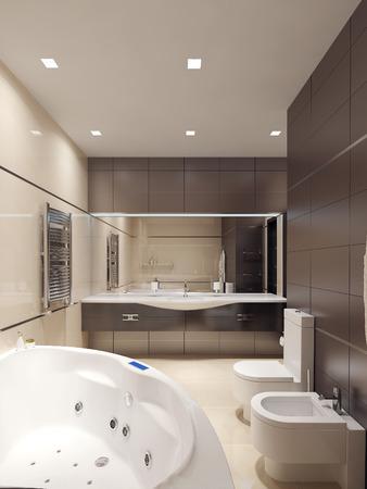 avantgarde: Bathroom avant-garde style. 3d images