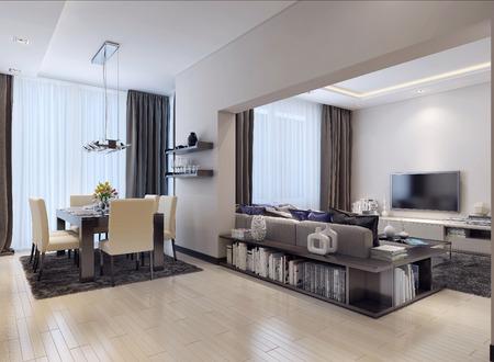 Studio de style moderne, les images 3D Banque d'images - 47512676