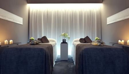 furniture concept: Interior spa, 3d images