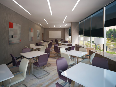 romana: Sala de negociaciones Moderno, imágenes 3d