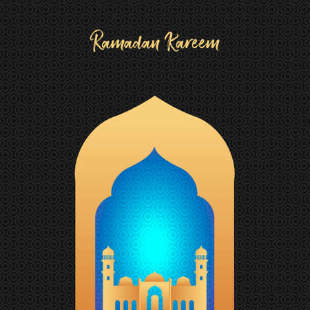 Modern luxury Islamic square template layout background post card. social media and template banner design for Ramadan, Al-Adha and Al-Fitr.