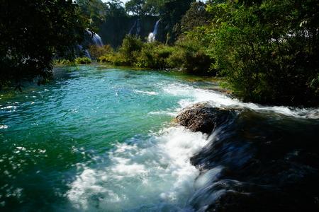 transnational: Detian Falls