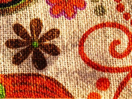 Pattern on the bag photo