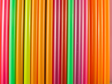 Colorful drinking straws background Stock Photo - 11228837