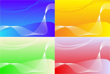 Four colors abstract background Stock Photo - 12433161
