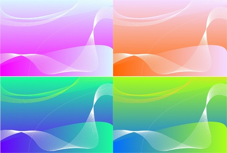 Four colors abstract background Stock Photo - 12433162