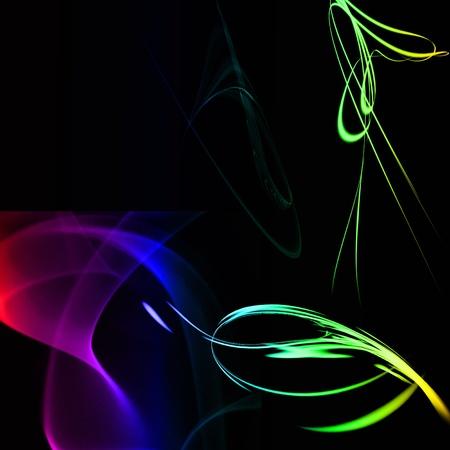 abstract futuristic energy Stock Photo - 13082530