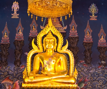 Buddha statue in the church  Stock Photo - 14870907
