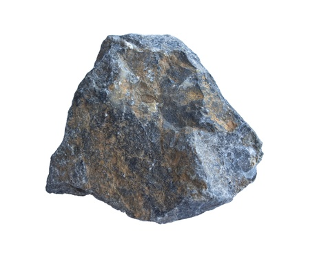 天然石の白い背景で隔離