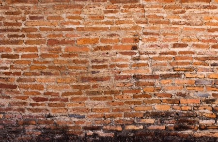 old red brick wall texture photo