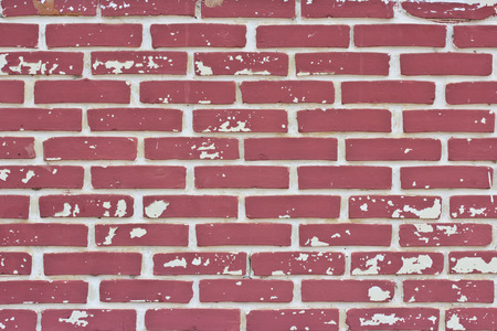 Red brick wall  - texture pattern for continuous replicate.