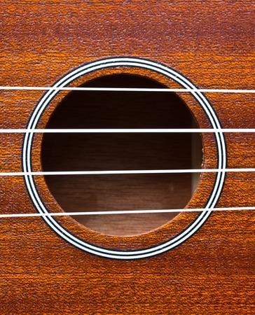 diapason: close up ukulele