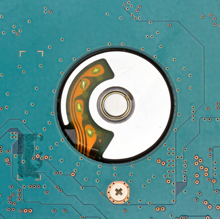diskdrive: Close up Hard disk drive HDD Stock Photo