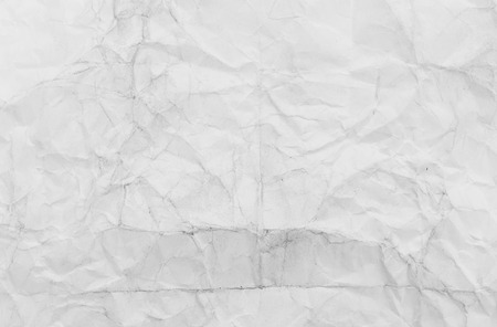 wrinkled paper: wrinkled paper, used as background Stock Photo