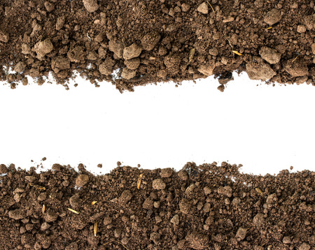Soil background Stockfoto
