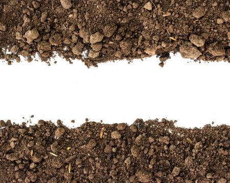 soil conservation: Soil background Stock Photo