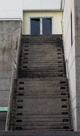 emergency stair: Stairs to office building