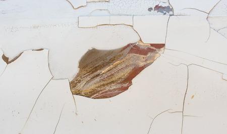 rusty car: Background old rusty car bonnet. Stock Photo