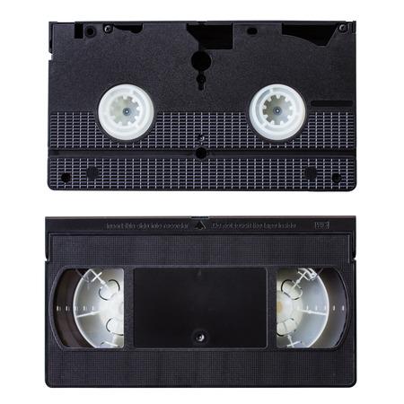 vdo: VDO tape on white background Stock Photo