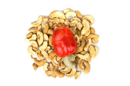 phuket food: Cashew Nut Apple and Fresh Cashew Nut