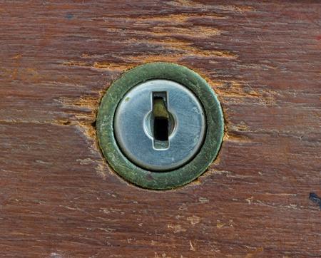 keyhole: Old wood backgrounds with keyhole